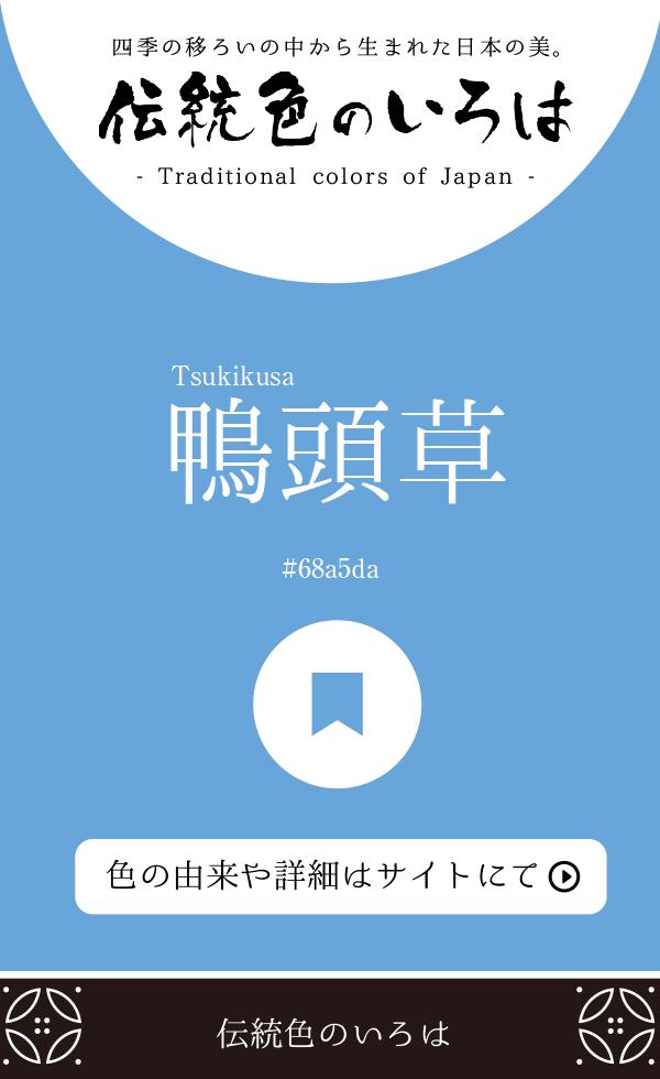 鴨頭草(Tsukikusa)