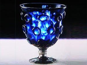 正倉院の宝物、瑠璃盃(るりのつき)